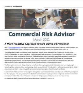 march commercial risk newsletter