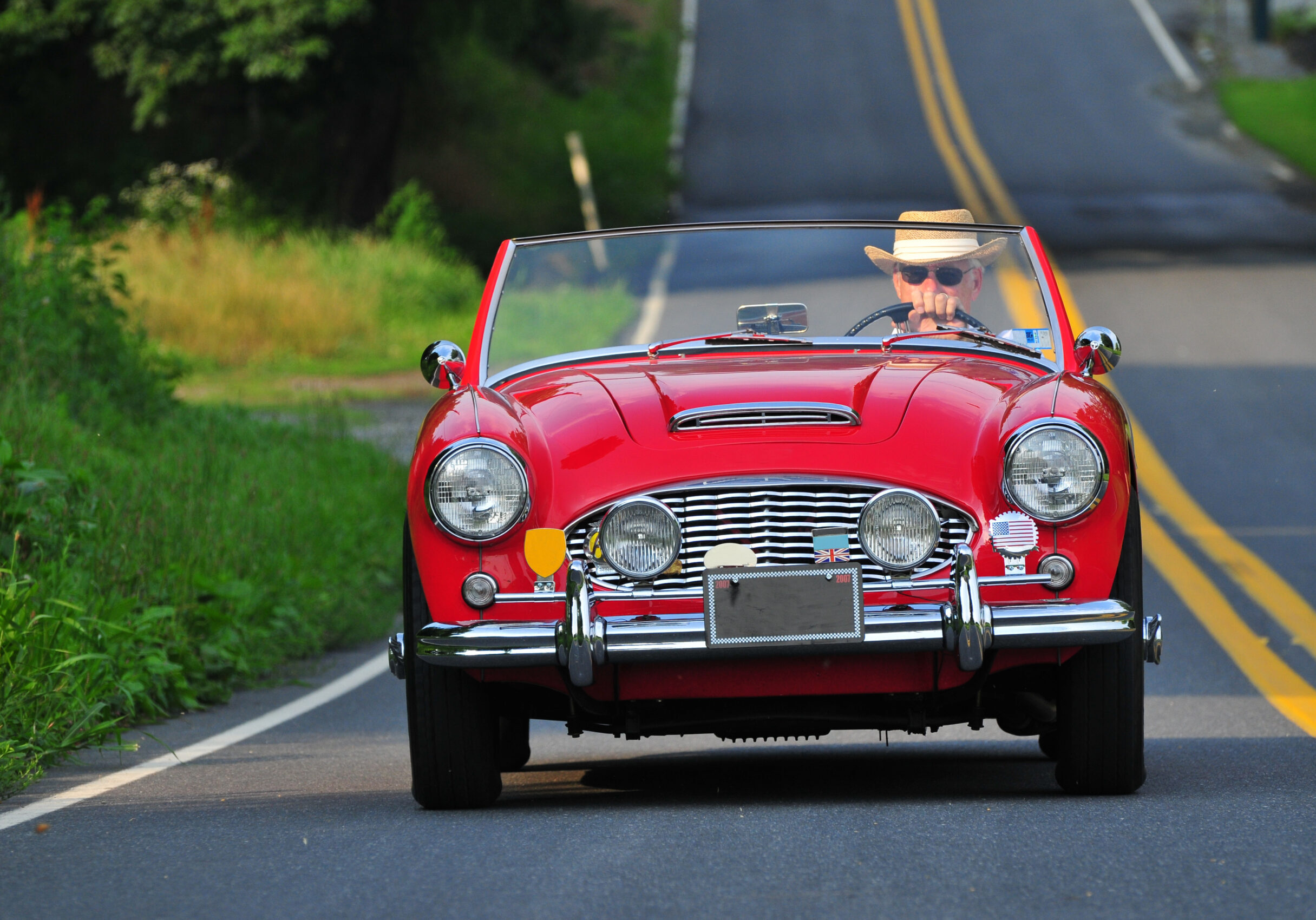 Since you have purchased a classic or antique vehicle, you'll want to insure it properly, as it is an investment.